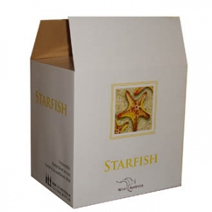 Color printed wine packing box 2