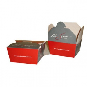 Red Spoon Thai Spring Roll Box